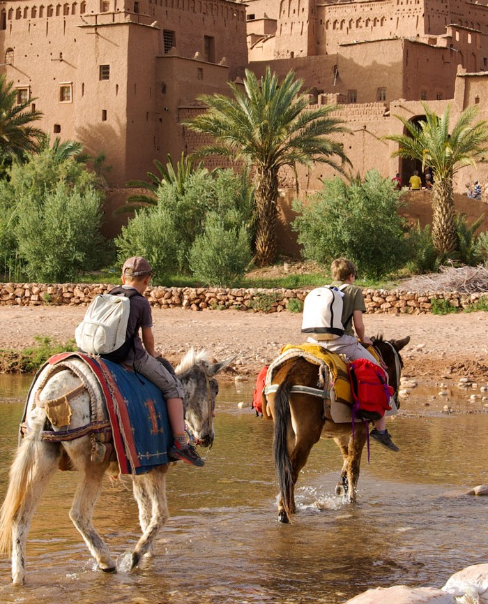 Equestrian Ride with Kasbah Tebi