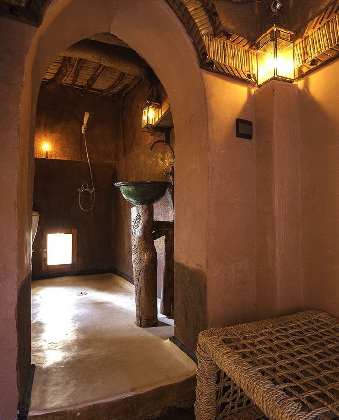 Kasbah Tebi : our bathroom