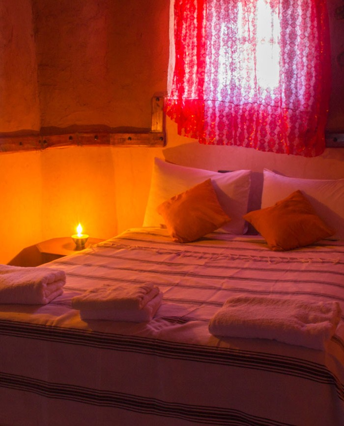 Deluxe Double Room in Kasbah Tebi
