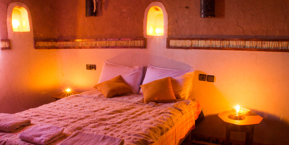 Kasbah Tebi Guesthouse offer two deluxe Family Suite in a 400 years old berber kasbah